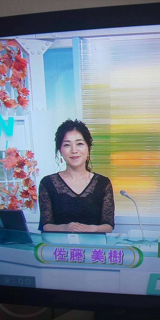 【画像】美人キャスターの佐藤美樹さん、本日も衣装が可愛いwww