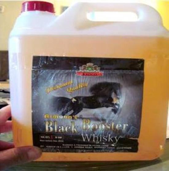 【超画像】アメリカの安物ウイスキー、容器がマジキチと各国で話題にwwwwwww