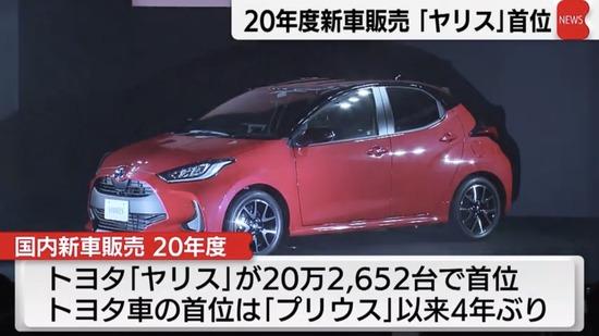 【画像】ヤリス、新車販売台数トップwww