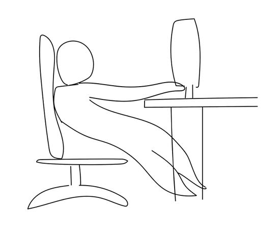 【画像】この座り方してるやつは今すぐ辞めろ、ある日急に歩けなくなるぞwwwwwwww