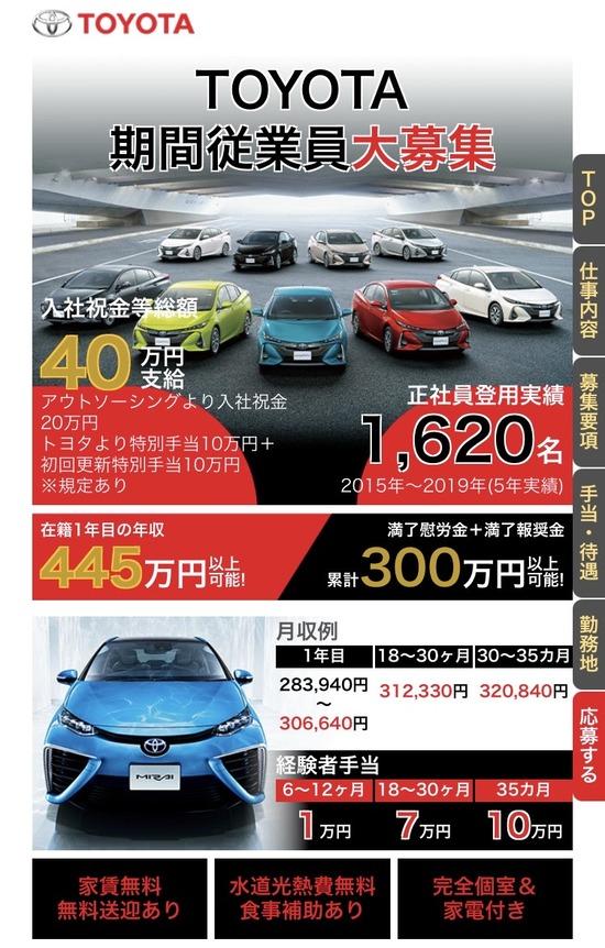 【画像】トヨタの給料すごくない?www