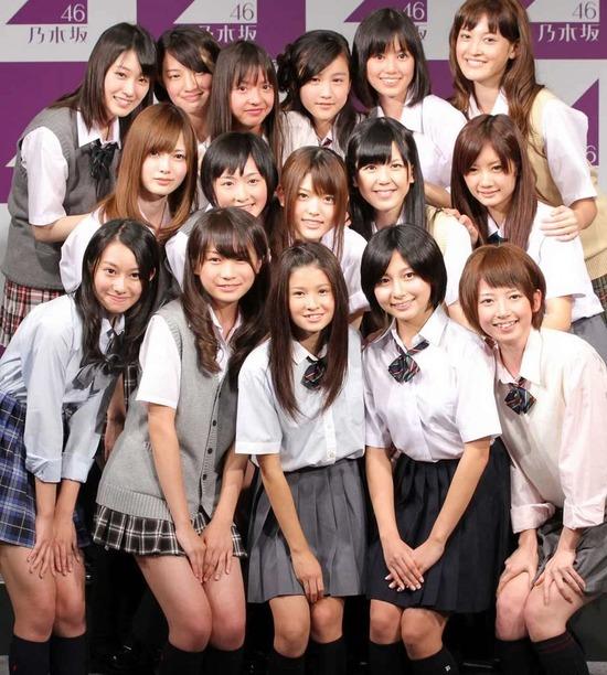 【画像】デビュー当時の乃木坂、みんな可愛すぎるwwwww