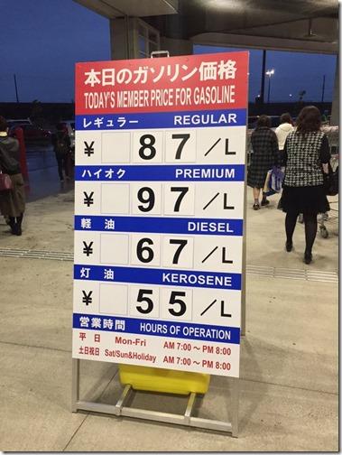 【画像】ガソリン価格さん、6年で倍になってしまう・・・wwwww