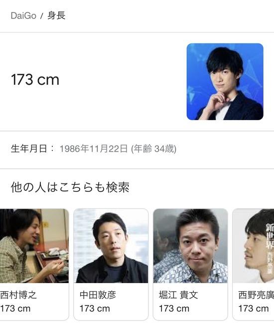 【画像】胡散臭い日本人、身長が揃いも揃って173cmwww