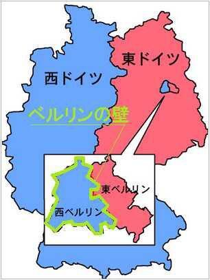 【画像】ワイ(28)「ベルリンの壁って東西ドイツを分断してたんやろなぁ」→衝撃事実www