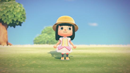【画像】どうぶつの森でアニメの服作ってみたwwwwwwww