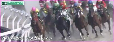 京都ダ1900m/騎手・種牡馬データ(2017平安S)