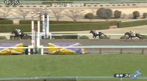 【競馬】阪神3R新馬戦 武豊騎乗のマグナレガーロが6馬身差の圧勝