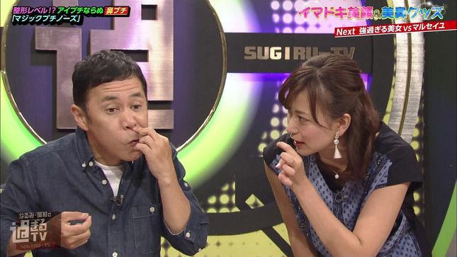 斎藤真美アナ 胸元チラ & ドアップ!