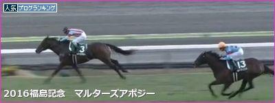 福島芝2000m/騎手・種牡馬データ(2017福島記念)