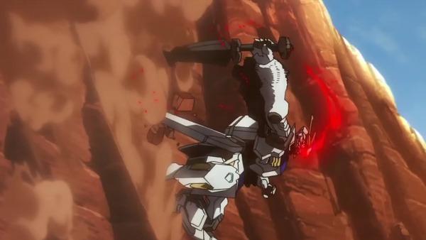鉄血のオルフェンズ第38話「天使を狩る者」_000197948