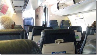 LIATの機内