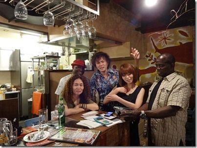 渋谷の多国籍料理店イェネガyinega