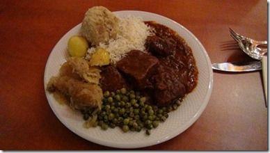 チロル地方の素朴な食事