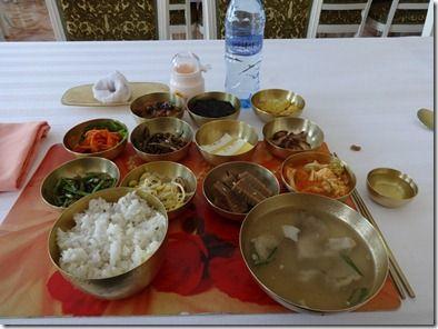 高句麗時代の貴族の食事