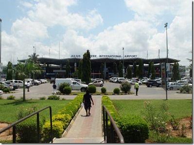 ダルエスサラームの国際空港