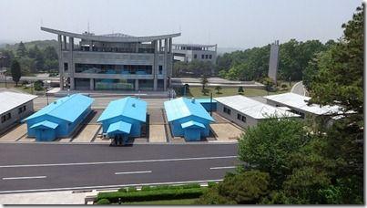 38度南北朝鮮国境線
