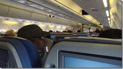 カリビアン航空内部