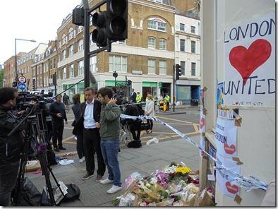 ロンドンテロ発生現場