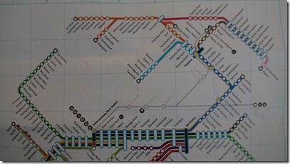 ヨハネスブルグメトロ路線図2 拡大可