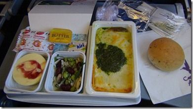 カリビアン航空機内食