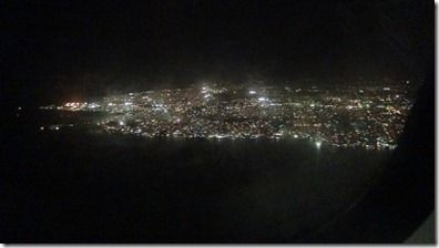 バルバドスの島の夜景