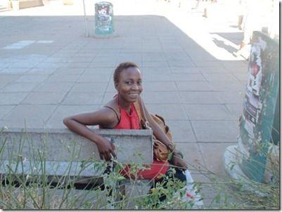 ボツワナ人女性
