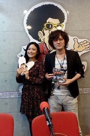 椿かおりレインボータウンFM出演 MASAKI世界一周の旅ラジオ出演