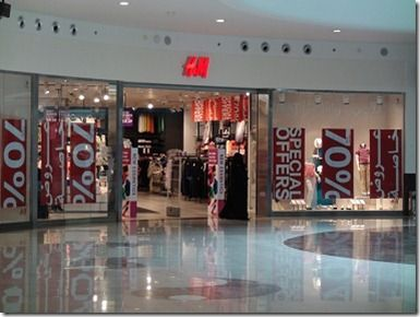 H&Mサウジアラビア店