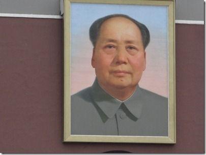 毛沢東の肖像画