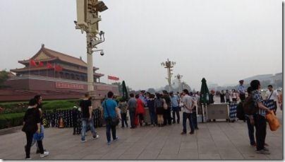 天安門広場前