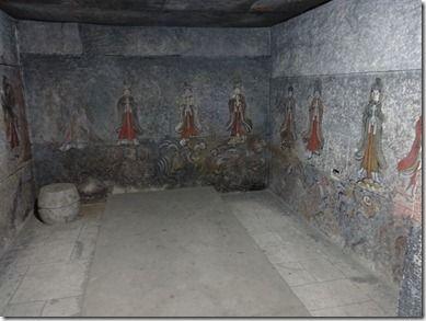 現代にまで壁に描かれた絵が残っている