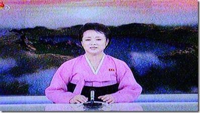 北朝鮮の国営テレビ