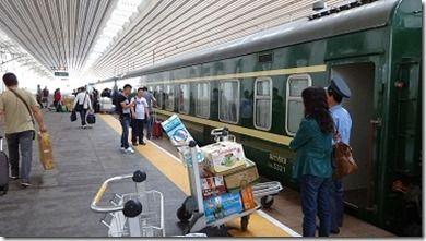 北朝鮮行の列車