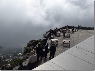 雲の中のテーブルマウンテン