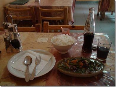 マダガスカルのアジア料理