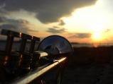 夕日とコンスト
