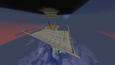 Minecraft 天空TT途中経過