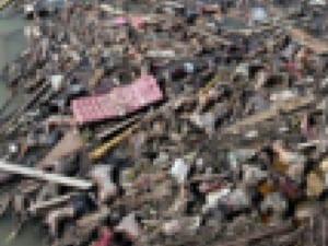 【閲覧注意】津波の後に撮影された「この1枚の写真」って何度見ても凄いよな…