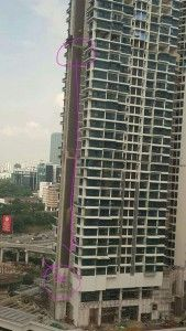 【閲覧注意】35階から落ちた人間はこうなる(画像)