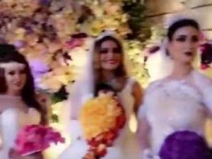 """【動画】お金持ちの結婚式の """"花嫁の数"""" が信じられないと話題に"""