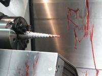 CNC工作機械による地味な派手な失敗映像集。どんな機械でも入力をミスると機械もミスる。