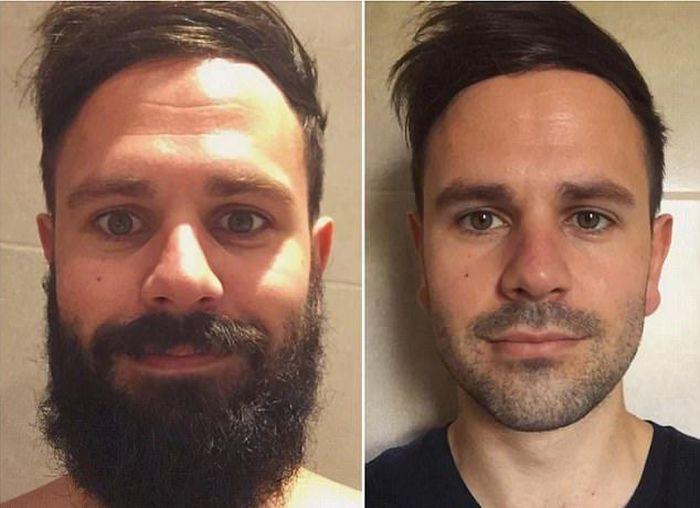 髭があるときと無いときの人の顔はこんなにも違う【7pic】