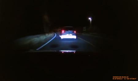 奈良市の針町でDQNが当て逃げされスポーツカー(BRZ)で犯人を追い掛け回すドラレコ映像。
