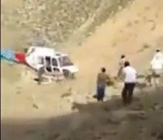 救助ヘリコプターのプロペラに頭をぶつけ死亡