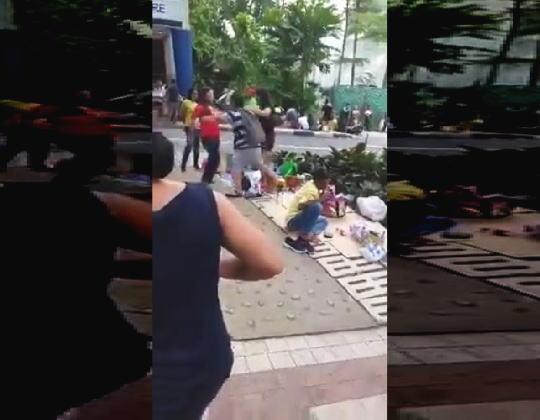 【閲覧注意】シンガポールでおっそろしい事故が撮影される(((゚Д゚)))