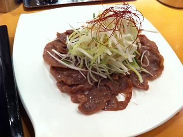 牛タンサラダ
