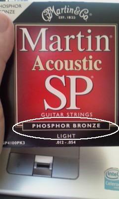 phosphor-bronze(フォスファーブロンズ弦)