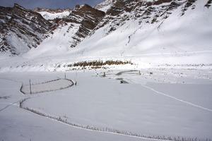 氷と雪の回廊を歩く インド・ザンスカール チャダルトレッキング 23