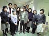 幸田町図書館の講演会にて、関係者の皆さんと。